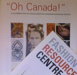 Flyer for Fashion Resource Centre